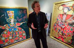 The final paintings of Canadian figure-skating great Toller Cranston have returned home after his untimely death in Mexico more than a year ago. Mens Figure Skates, Canadian Artists, Cubism, Figure Skating, Calgary, The Magicians, Evolution, Thursday, San Miguel De Allende