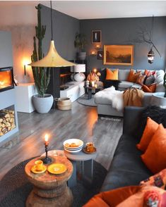 41 Inspiring Living Room Color Schemes Ideas Will Make Space Beautiful - Home Decor Living Room Inspiration, Interior Design Living Room, Living Room Color Schemes, Living Design, Interior, Living Decor, Home Decor, House Interior, Apartment Decor