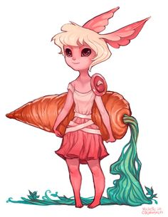 Carrot Thief by ~RobotMichelle on deviantART