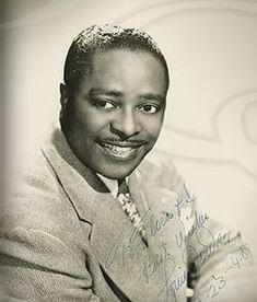 Louis Jordan ♦ American musician, songwriter and bandleader. https://www.youtube.com/watch?v=YdQJ3Q0uhYE