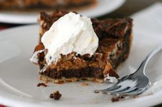 Chocolate Caramel Pecan Pie | Mel's Kitchen Cafe
