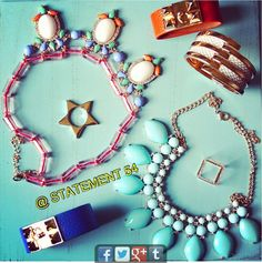 Farandole of Statement accessories! Find this yummy selection here >> www.Statement54.com