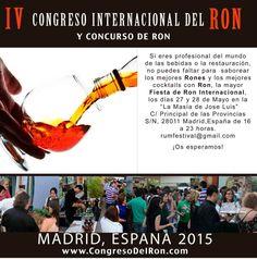 Madrid, capital del ron con el IV Congreso Internacional del Ron 2015 https://www.vinetur.com/posts/2165-madrid-capital-del-ron-con-el-iv-congreso-internacional-del-ron-2015.html