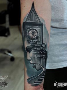 Surreal forearm tattoo - 110 Awesome Forearm Tattoos <3 <3