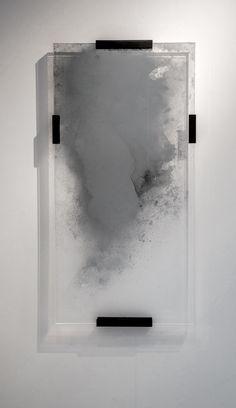 Tom Palmer | Ghost Mirror | glass, silver, perspex, brass