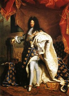 Hyacinthe Rigaud, Portrait of King Louis XIV