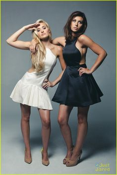 AJ & Aly Michalka: Zooey Mag Feature!