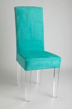 Muniz Plastics presents the Elite Acrylic Chair for sale. Contact for more information on Lucite Chairs and Acrylic Furniture.