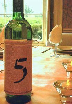 Wine hessian number