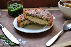 Delight Gluten Free Magazine | Recipes - Apricot Pesto Turkey Melt  http://www.delightglutenfree.com/recipes?id=619