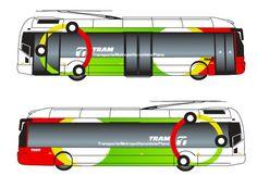 Propuesta de personalización y rotulación de los vehículos del TRAM