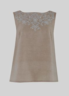 Beautiful hand embroidered top @ shopINGAR.nl