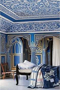 blueroomlady: dwellingsanddecor: Hurray Kimmay!: New Anthropolgie Catalog and Gorgeous Rooms