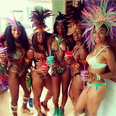 Big up to these West Indian beauties!