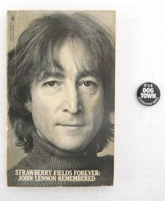 John Lennon Pinback Button It's A Dog Town at T-World Design ► http://etsy.me/1RpiF5F