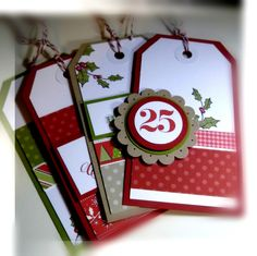 Great Gift Tags! Stampin' Up!