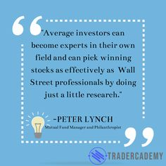 If you want to be a successful investor, a skill you should start practicing is your research skill. This is what Peter Lynch said: Research Skills, Lynch, Investors, Daily Quotes, Motivational Quotes, Success, Sayings, Daily Qoutes, Lyrics