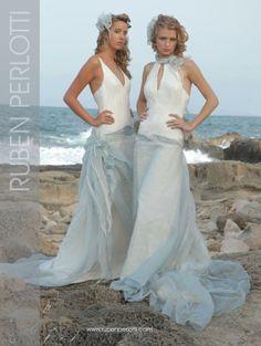 vestidos de novia para boda en la playa | colección Elements de Ruben Perlotti