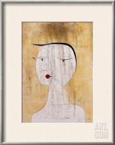 Sealed Woman Framed Art Print by Paul Klee at eu.art.com