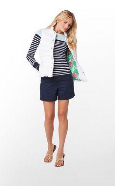 Lauren Puffer Vest in Resort White $188 (w/o 12/15/12) #lillypulitzer #fashion #style