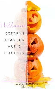 are some Halloween Costume Ideas that will make you outstanding and rock this year's costume! Teacher Halloween Costumes, Halloween Music, Halloween Halloween, Thanksgiving Songs, Music Activities, Elementary Music, Music Classroom, Teaching Music, Music Education