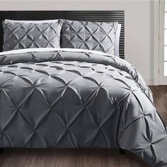 Shop for VCNY Carmen 3-piece Pintuck Duvet Cover Set. Get free shipping at Overstock.com - Your Online Fashion Bedding Outlet Store! Get 5% in rewards with Club O! - 15125656