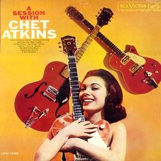 Chet Atkins - A Session With Chet Atkins (Vinyl, LP) at Discogs Cd Cover Art, Lp Cover, Easy Listening, Music Album Covers, Music Albums, 50s Music, Chet Atkins, Classic Album Covers, Pochette Album
