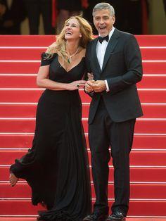 【ELLE】ジュリア・ロバーツ、ジョージ・クルーニー Julia Roberts, George Clooney|ハリウッドセレブもアがる! 第69回カンヌ国際映画祭レッドカーペットドレス|エル・オンライン