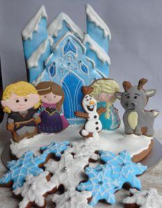 3-D Frozen Castle   Cookie Connection