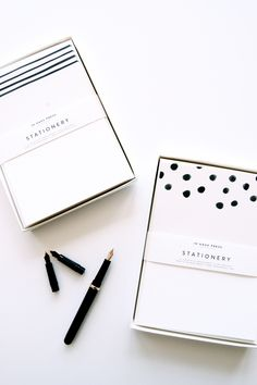 This line is available at Amelia... but loving this stationery! Will need to order this for the shop soon.