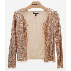 99e958b67a7dc9 Rain Sequin Blazer ( 31) ❤ liked on Polyvore featuring outerwear