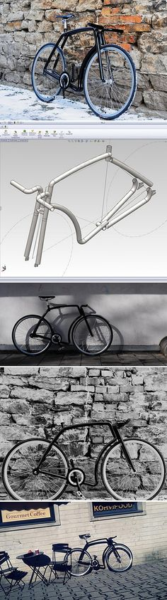 Viks bikes : Stainless Steel and Imagination