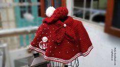 Crochet cute baby poncho