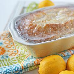 Lemon Loaf with Sour Cream Glaze
