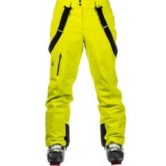 Cover: Spyder Dare Athletic Fit Mens Ski Pants, Acid  The Spyder Dare Athletic Fit Mens Ski Pants incorporate bold styling in a roomier fit. The Dare Athletic Fit Ski Bottoms are up for any challenge with highly waterproof and breathable fabric, and 3M Thinsulate Insulation, providing you with all day comfort, protection, warmth and crazy awesome coverage overs layers. The Dare Athletic Fit Ski Bottoms are highly functional and packed with features, this performance-inspired design keeps you…