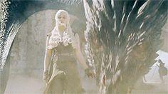 Daenerys & Drogon (6x9)
