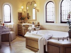 beautiful bathrooms | ... can remodeling your bathroom become master bathroom with elegant light