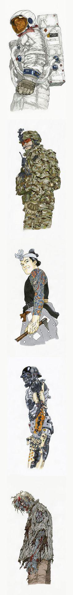 Katsuhiro Otomo  G-SHOCK
