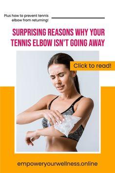 Tennis Elbow Relief, Tennis Elbow Symptoms, Tennis Elbow Exercises, Tennis Elbow Brace, Group Fitness, Fitness Tips, Health Fitness, Workout Routines, Fun Workouts