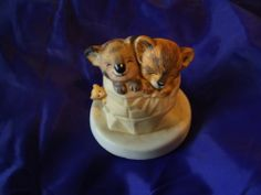 Sunny Animals by Heartline Koala and Lion Cub Figurine in Bag with Mouse on Side