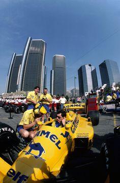 1987 US Grand Prix (Detroit) - Ayrton Senna (Lotus) [2430x3681]