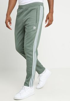 f9f017892614 adidas Originals BECKENBAUER - Tracksuit bottoms - trace green -  Zalando.co.uk Adidas