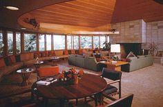 Duey and Julia Wright House. Wausau, Wisconsin. 1959. Usonian. Frank Lloyd Wright