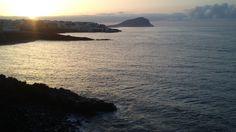 Morning Sun on the sea