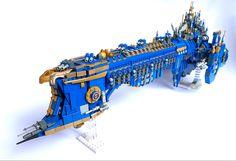 Battlefleet Gothic, Cool Lego Creations, Lego Models, Everything Is Awesome, Lego Stuff, Warhammer 40k, A Team, Star Trek, Games