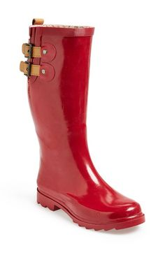 Chooka 'Top Solid' Rain Boot (Women) available at #Nordstrom