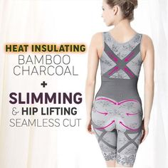 ccf4f04f9201 7 Best Bamboo Charcoal Thermal Body Shaper images in 2019