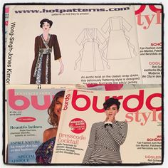 Thank you @sewuthinkucan for the Burda magazines & pattern!  #happymailday #mademyday