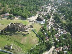 We visited Milot Haiti, but we saw it from a different view uphill closer to the Palace.