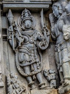 Chanakeshava Temple, Belur, India - Another beautifully detailed...